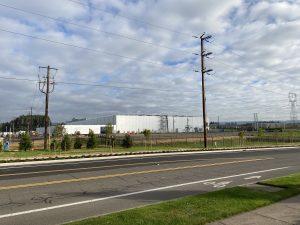 ヒルズボロで建設中のデータセンター