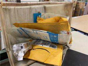 米国アマゾンで販売した商品の返品